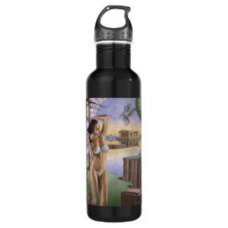 黒いペガソスのパルテノンの水差し(24のoz) ウォーターボトル