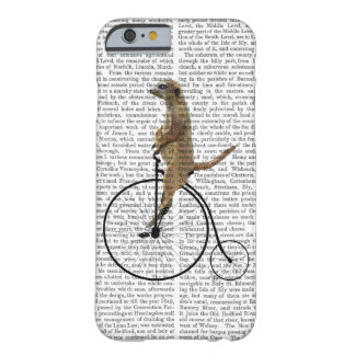 黒いペニーのFarthingのMeerkat Barely There iPhone 6 ケース