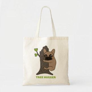 黒いマスクの子鹿Frenchieはかわいい木のhuggerです トートバッグ