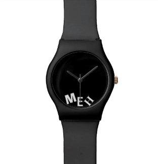 黒いモノグラムの壊しました 腕時計