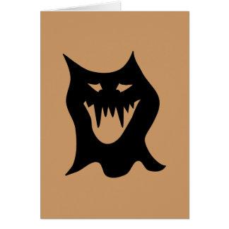 黒いモンスターの漫画 カード