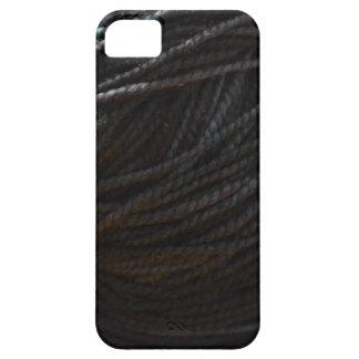 黒いヤーン iPhone SE/5/5s ケース