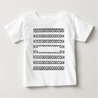 黒いラインか。 ありがとう ベビーTシャツ