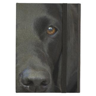 黒いラブラドール犬 iPad AIRケース