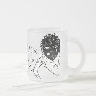 黒いルネサンスによって曇らされるマグ フロストグラスマグカップ