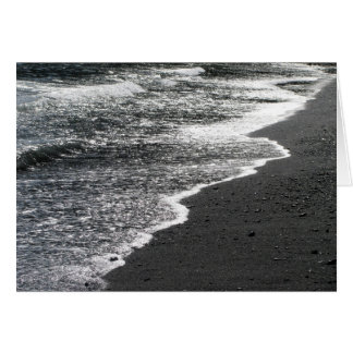 黒いレースのビーチ5 カード