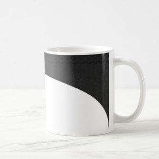 黒いレース柄 コーヒーマグカップ
