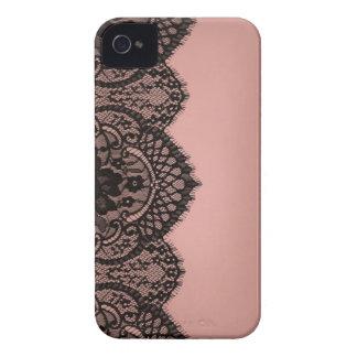 黒いレース Case-Mate iPhone 4 ケース