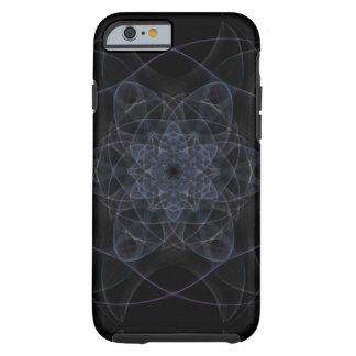 黒い万華鏡のように千変万化するパターンのデザイン ケース