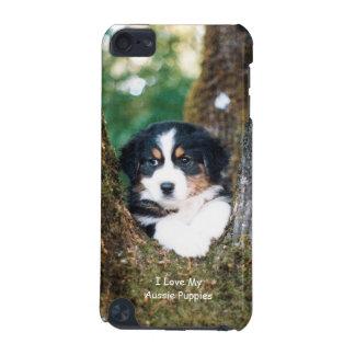 黒い三オーストラリアの羊飼いの子犬のTouch 5g iPod Touch 5G ケース