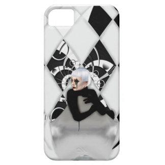 黒い中国 iPhone SE/5/5s ケース