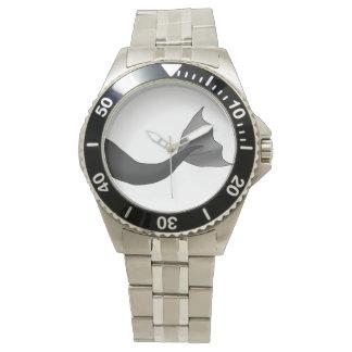 黒い人魚の尾 腕時計