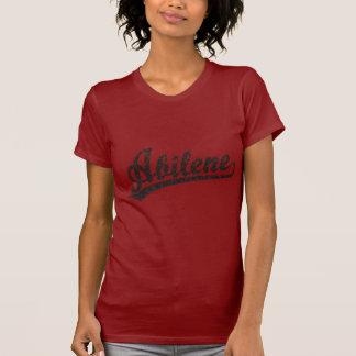 黒い動揺してのアビリンの原稿のロゴ Tシャツ