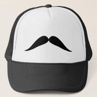黒い口ひげのおもしろいの帽子 キャップ