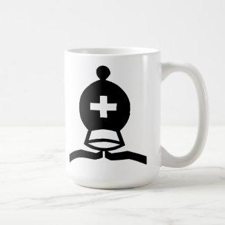 黒い司教 コーヒーマグカップ