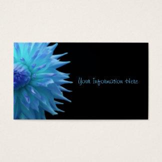 黒い名刺の青いJennie 名刺