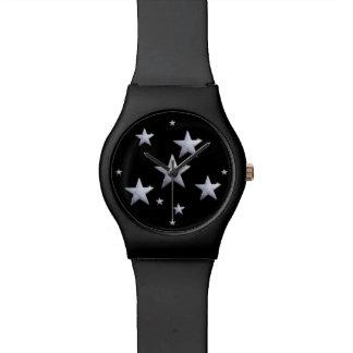 黒い夜星 腕時計