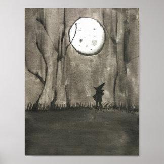 黒い夜 ポスター