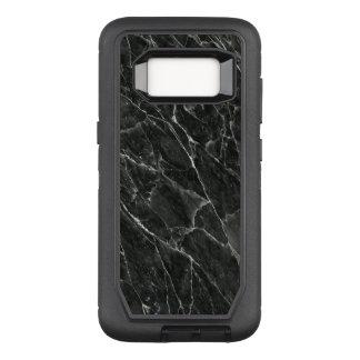 黒い大理石 オッターボックスディフェンダーSamsung GALAXY S8 ケース