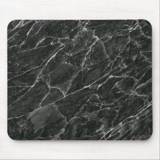 黒い大理石 マウスパッド