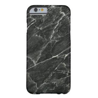 黒い大理石 BARELY THERE iPhone 6 ケース