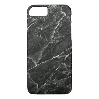 黒い大理石 iPhone 7ケース