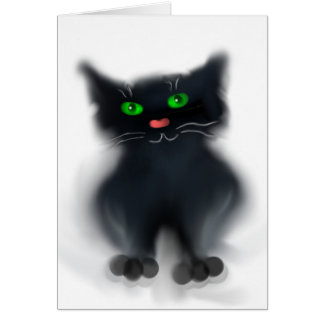 黒い子ネコ カード