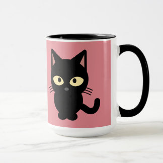 黒い子ネコ マグカップ