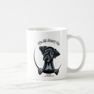 黒い実験室すべてに約私 コーヒーマグカップ