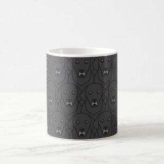 黒い実験室のマグ コーヒーマグカップ