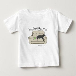 黒い実験室 ベビーTシャツ