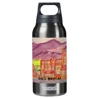 黒い山の芸術 断熱ウォーターボトル