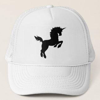 黒い帽子の収集できる色のユニコーン キャップ