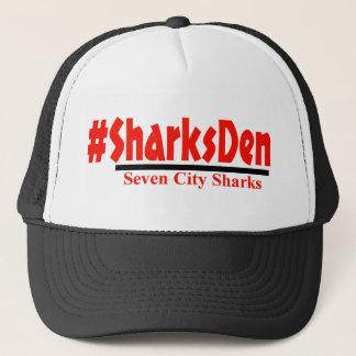 -黒い帽子を#SharksDen キャップ