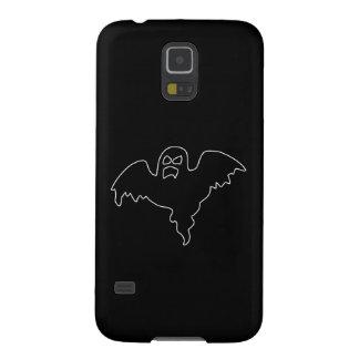黒い幽霊の気味悪いイメージ GALAXY S5 ケース