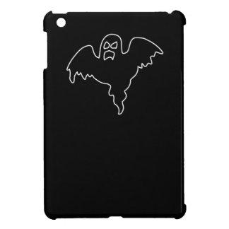 黒い幽霊の気味悪いイメージ iPad MINI カバー