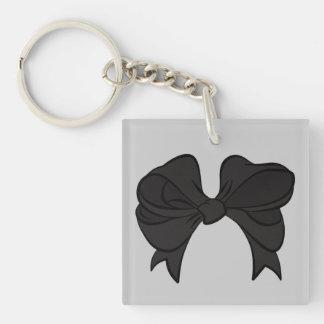黒い弓キーホルダー キーホルダー