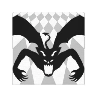 黒い悪魔 キャンバスプリント