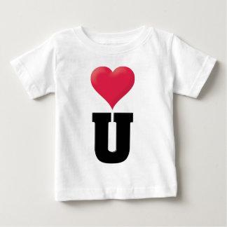 黒い愛して下さい ベビーTシャツ