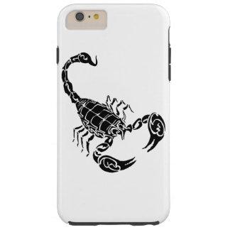 黒い手描きの蠍の落書き TOUGH iPhone 6 PLUS ケース