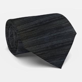 黒い打撃の大理石 カスタムネクタイ