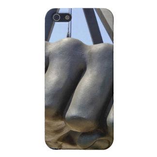 黒い握りこぶしデトロイト iPhone SE/5/5sケース