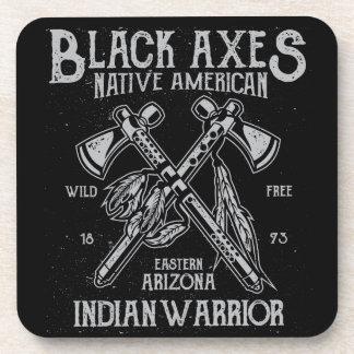 黒い斧原産アメリカのインドの戦士アリゾナ コースター