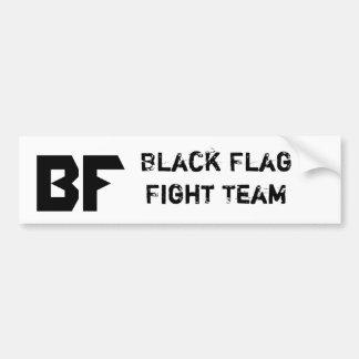 黒い旗MMAプロダクト バンパーステッカー