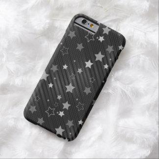 黒い星パターン BARELY THERE iPhone 6 ケース