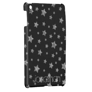 黒い星明かりのiPad Miniケースのテンプレートの銀 iPad Miniカバー