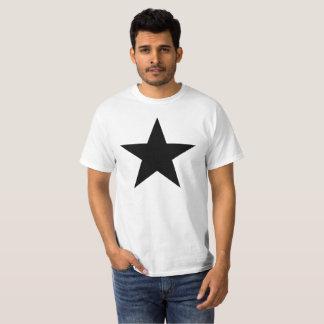 黒い星 Tシャツ