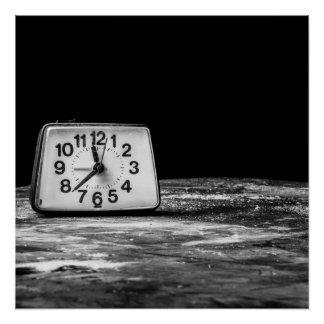 黒い時計 ポスター