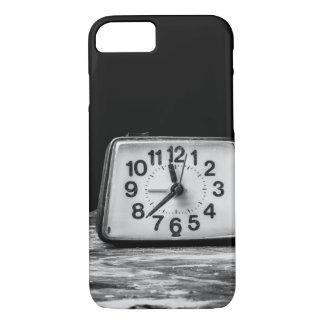 黒い時計 iPhone 8/7ケース