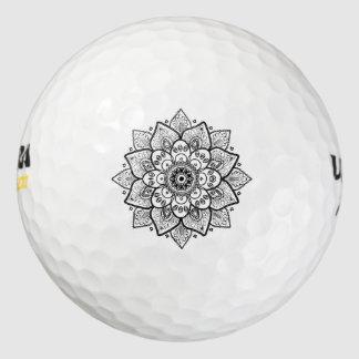 黒い曼荼羅 ゴルフボール